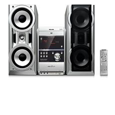 FWD831/BK  Mini Hi-Fi System com DVD