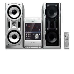 Mini Hi-Fi System com DVD