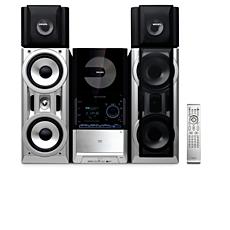 FWD872/55 -    Mini Hi-Fi System com DVD