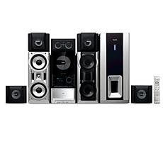 FWD876/55  Minisistema HiFi con DVD