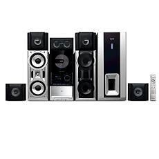 FWD876/98  DVD Mini Hi-Fi System