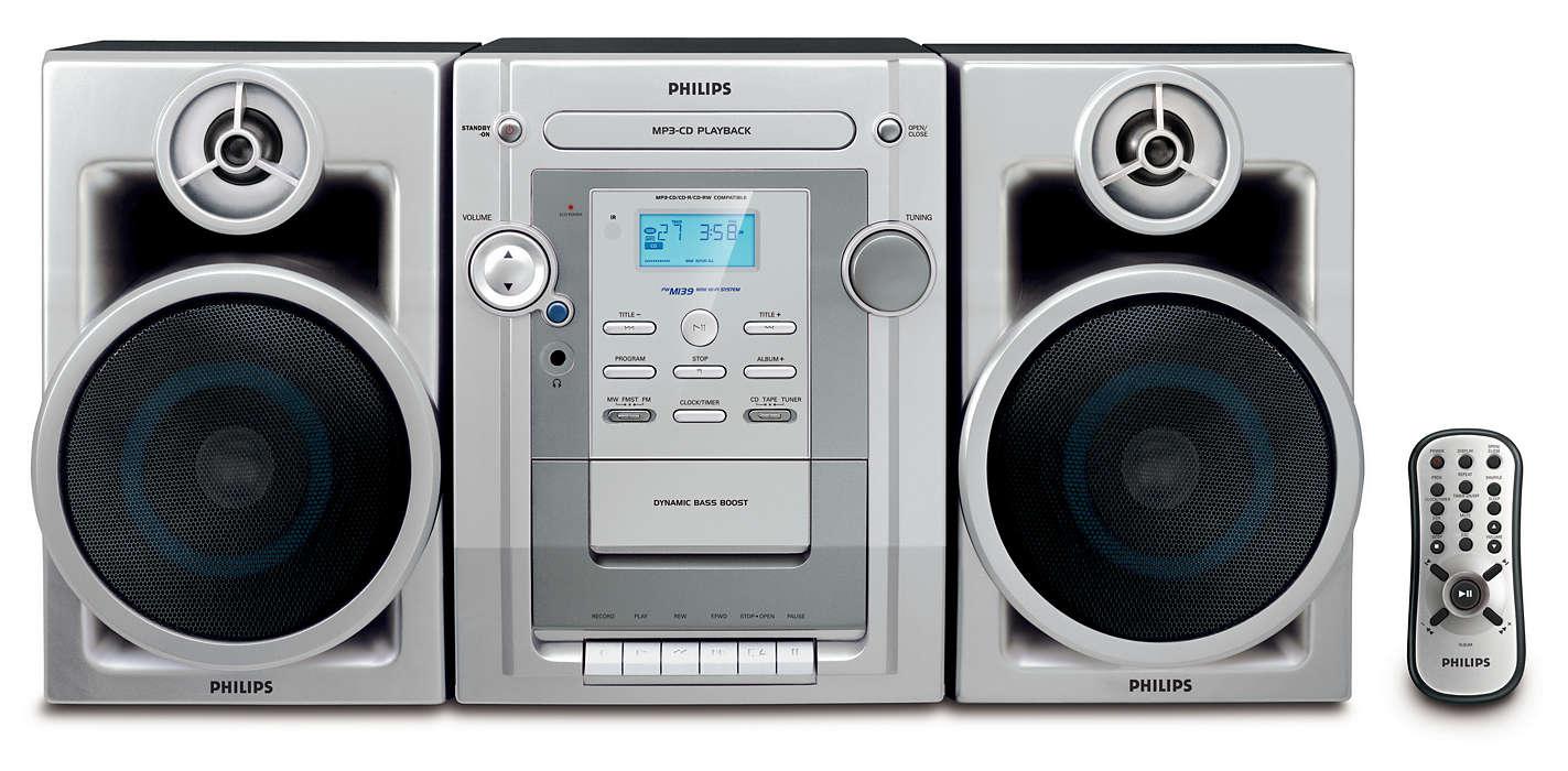 Ascultaţi MP3-CD-uri