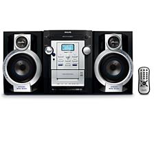 FWM143/12  MP3 HiFi-minisysteem