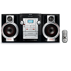 FWM143/55  Mini Hi-Fi System c/MP3