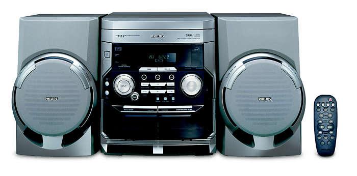 Riproduzione di CD-MP3
