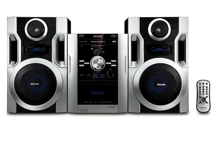 Luister naar uw favoriete MP3-CD-muziek met een rijk geluid