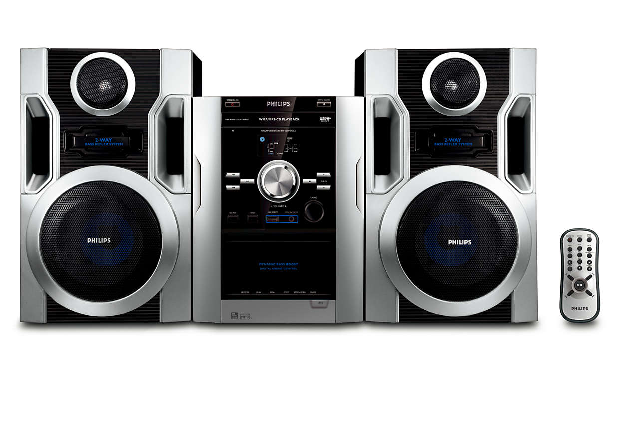Ouça os seus CD MP3 favoritos com som rico