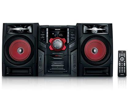 Curta músicas em MP3