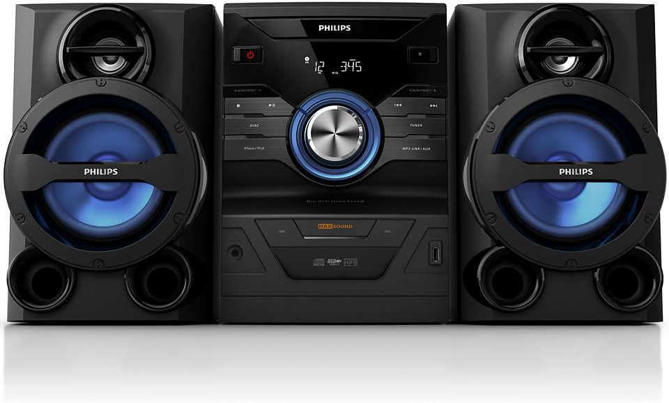Audio ricco e potente