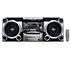 Mini-Hi-Fi-anlegg for MP3