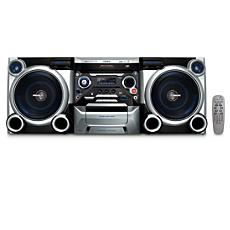 FWM377/12 -    Мини-система Hi-Fi с MP3