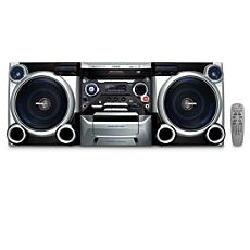 FWM377/55  Minisistema HiFi con MP3