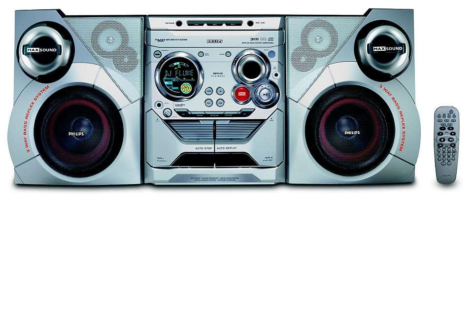 Reproducción MP3 con MAX Sound