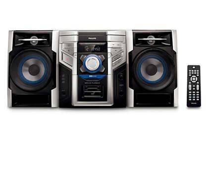 Disfrutá de la música en MP3 con un sonido excelente