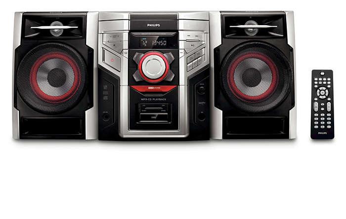 Curta músicas em MP3 com um som excelente