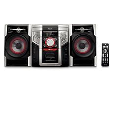 FWM396/BK  Mini Hi-Fi System c/MP3