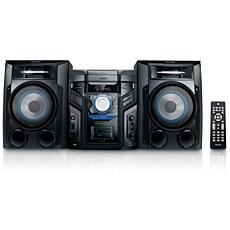 FWM417/55  Minisistema HiFi con MP3