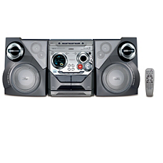FWM575/37  MP3/WMA Mini Hi-Fi System