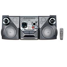 FWM575/37  MinichaîneHI-FI MP3/WMA
