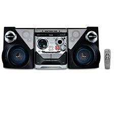 FWM575/55  Minisistema Hi-Fi con MP3/WMA