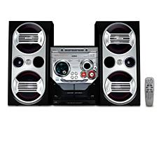 FWM576/55  Minisistema HiFi con MP3/WMA