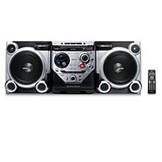 FWM582/12  MP3 HiFi-minisysteem