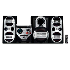 FWM583/BK  Mini Hi-Fi System c/MP3