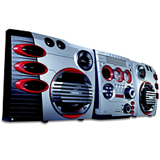 FWM587/37  Mini Hi-Fi System