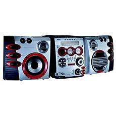 FWM589/21  Mini Hi-Fi System