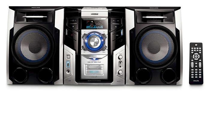 Disfruta de la música con excelente calidad de sonido y conexión