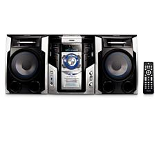 FWM592/BK  Mini Hi-Fi System c/MP3