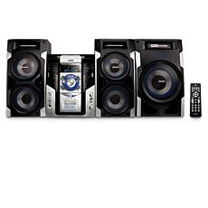 FWM593X/85  Minisistema HiFi con MP3