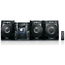 FWM603/55  Minisistema HiFi con MP3