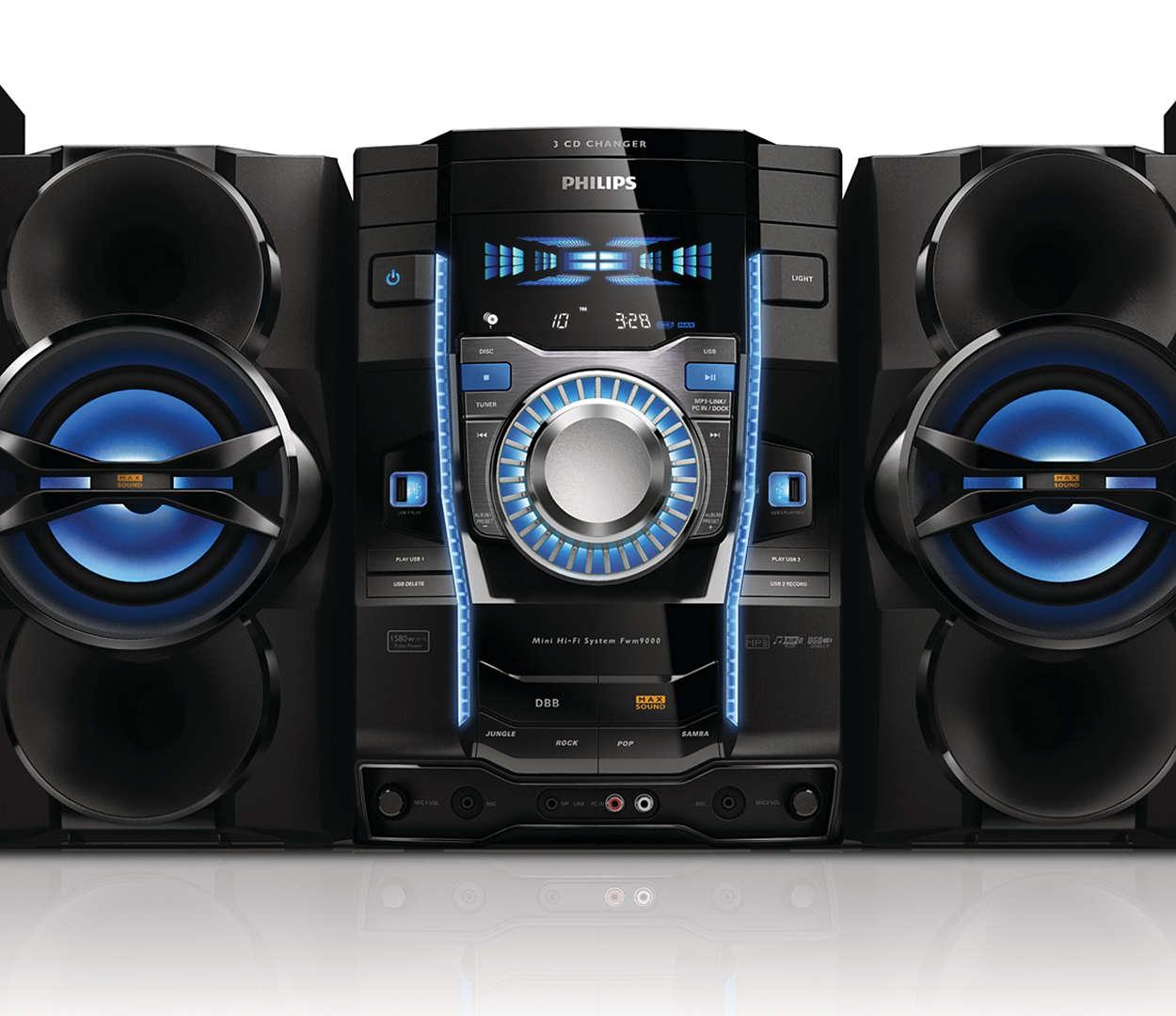 Compatibilidad para Mini sistema Hi-Fi FWM9000 55  cce2c1d38511