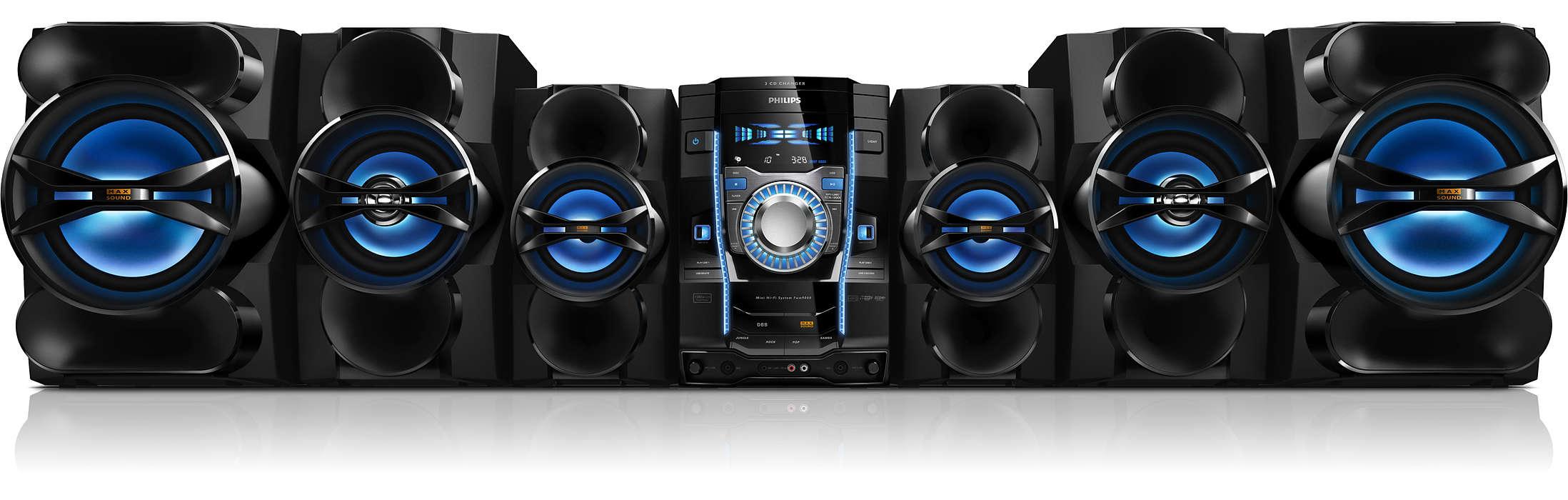 346cad2470d Mini sistema Hi-Fi FWM9000/55   Philips
