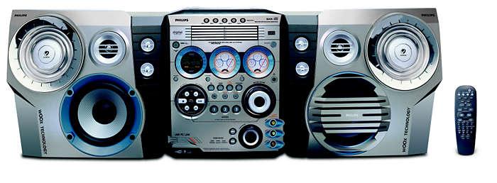 Controle remoto de MP3 direto de seu computador