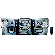 FWM922/BK  Mini Hi-Fi System c/MP3