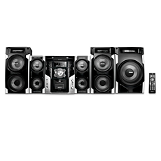 FWM996X/85  Minisistema HiFi con MP3