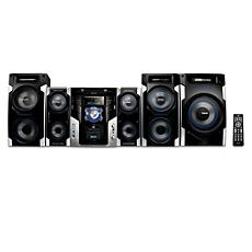 FWM996/55  Minisistema HiFi con MP3