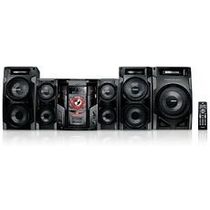 FWM997X/78  Mini Hi-Fi System c/MP3