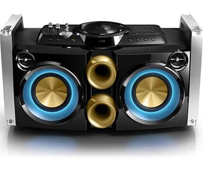 Идеальная музыкальная система для вечеринок