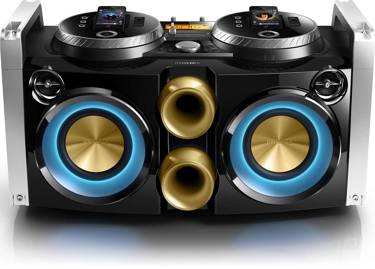 Ideāla viesību mūzikas sistēma