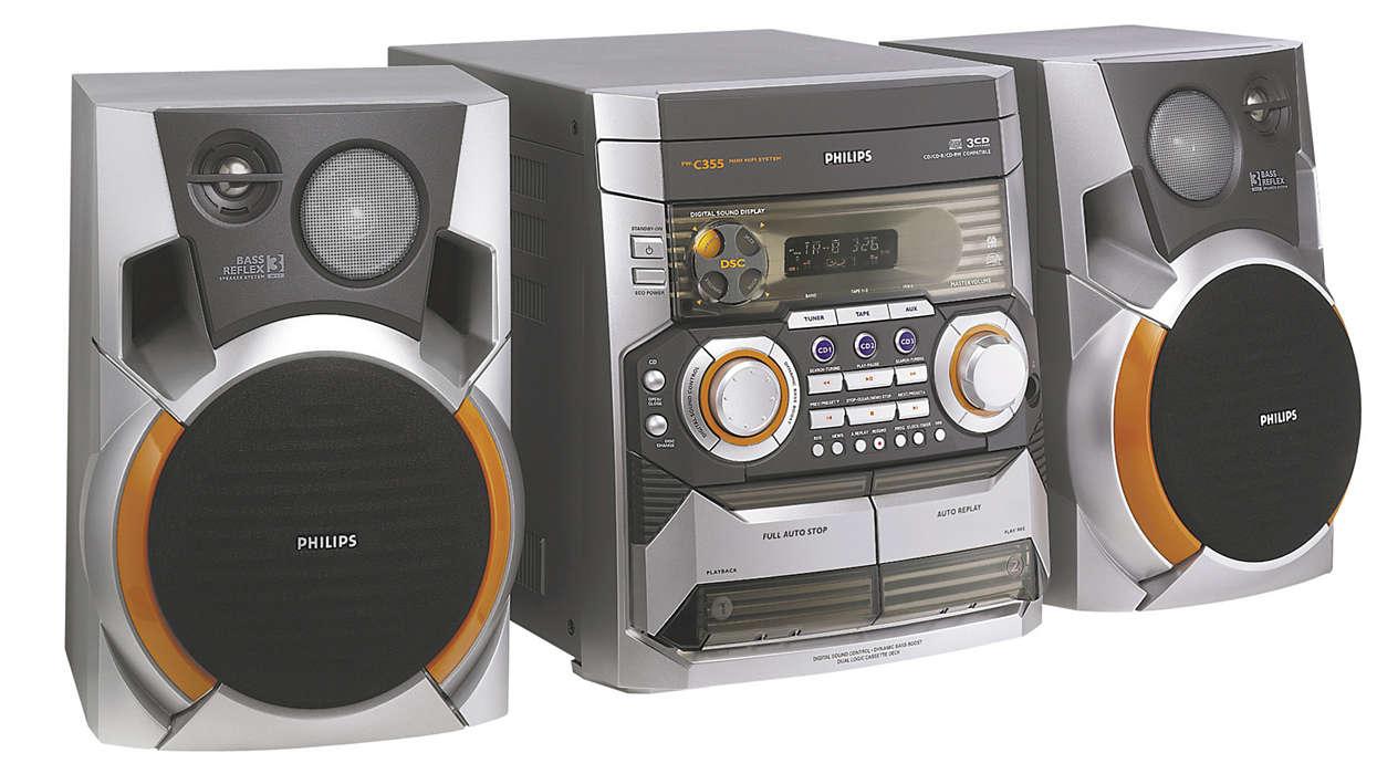 Πλούσια εμπειρία ήχου
