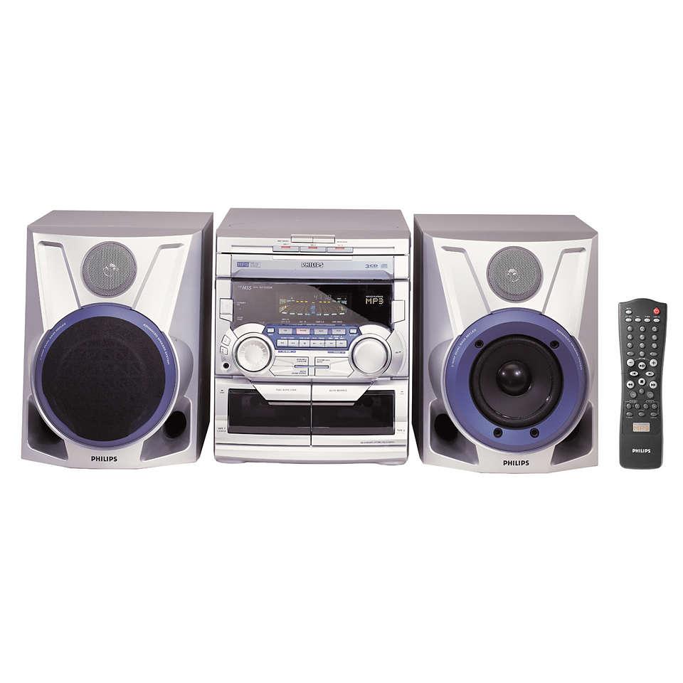 Αναπαραγωγή MP3 με ήχο MAX