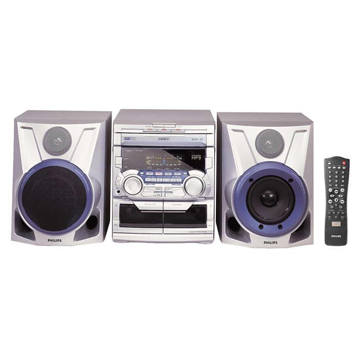 MP3-uppspelning med MAX Sound