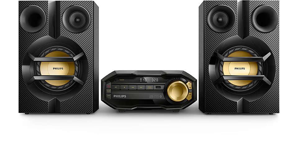 Powerful music wirelessly