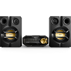 FX10/12  Sistema mini Hi-Fi