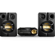 FX10/12 -    Miniwieża Hi-Fi