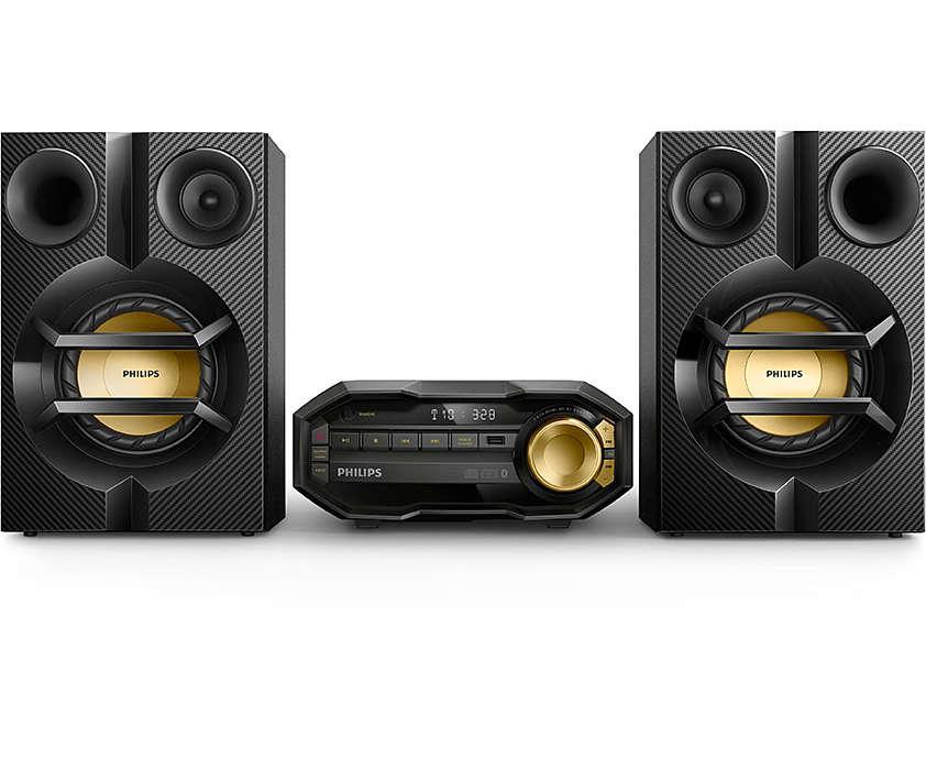 Kraftfull musik – trådlöst