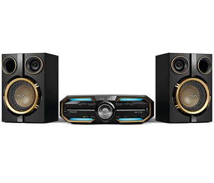 Niesamowity dźwięk — bezprzewodowo